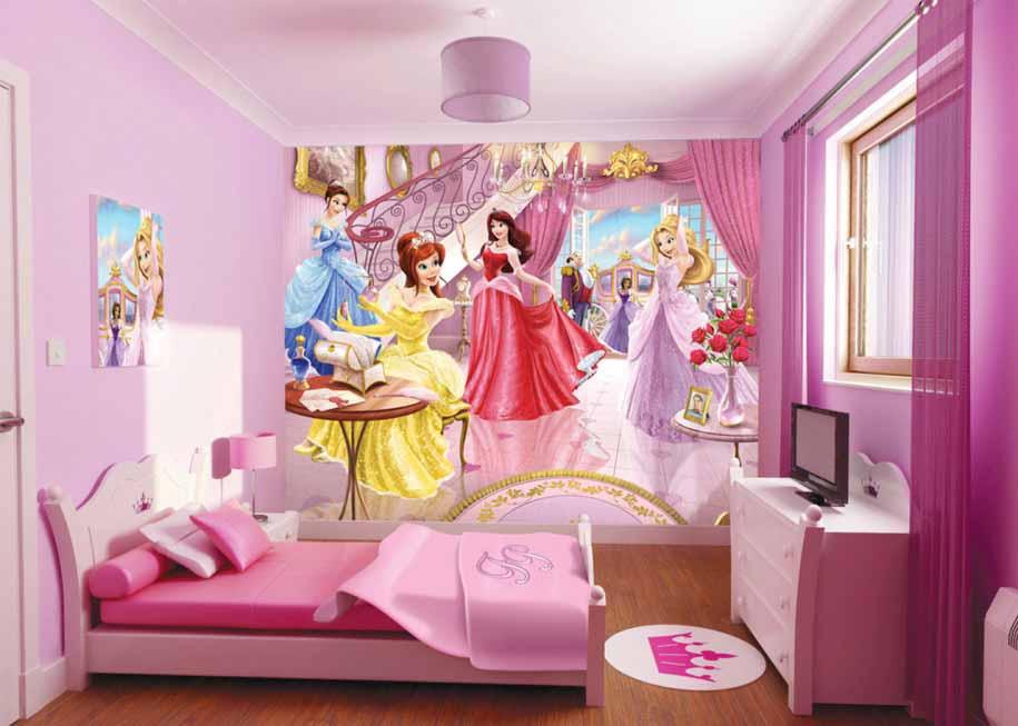Wallpaper Dinding Untuk Anak Perempuan