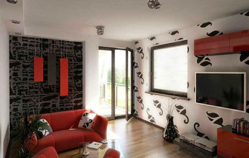 Tips Memilih Wallpaper Untuk Ruang Tamu Sempit
