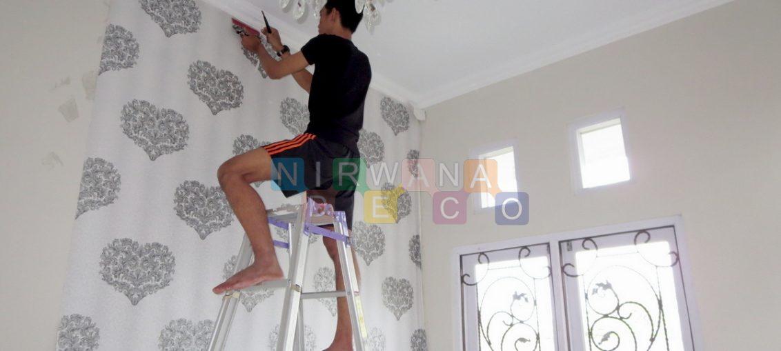 9 Cara Memasang Wallpaper Dinding Rumah Nirwana Deco Jogja