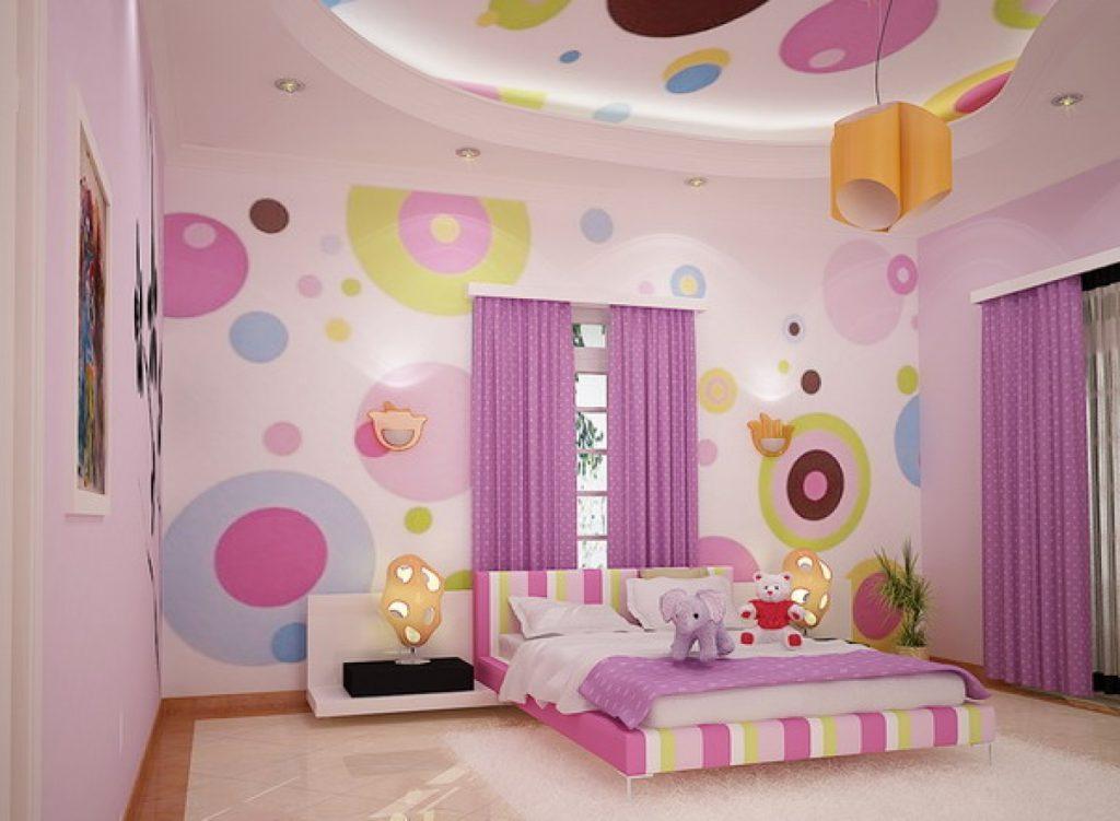 Desain Kamar Tidur Remaja Perempuan Unik  tips memilih wallpaper untuk kamar tidur nirwana deco jogja