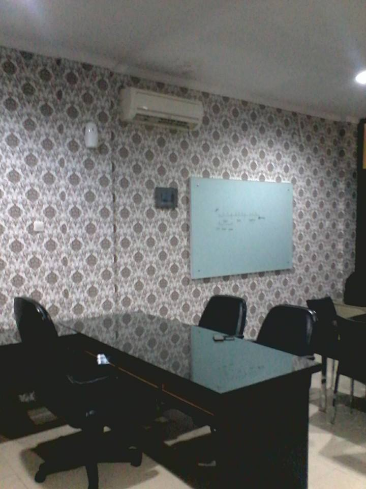 Konsep Wallpaper Untuk Kantor Nirwana Deco Jogja
