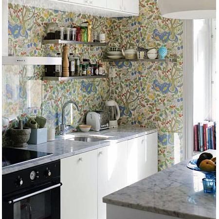 Wallpaper dinding untuk dapur nirwana deco jogja - Papel vinilico para cocinas ...
