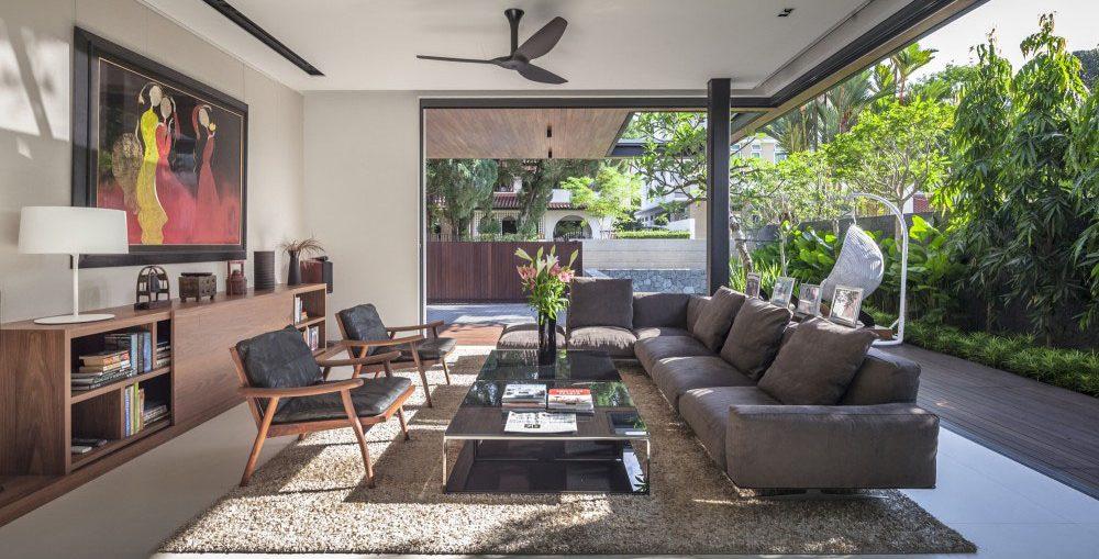 Desain Ruang Keluarga Yang Simple - Nirwana Deco Jogja