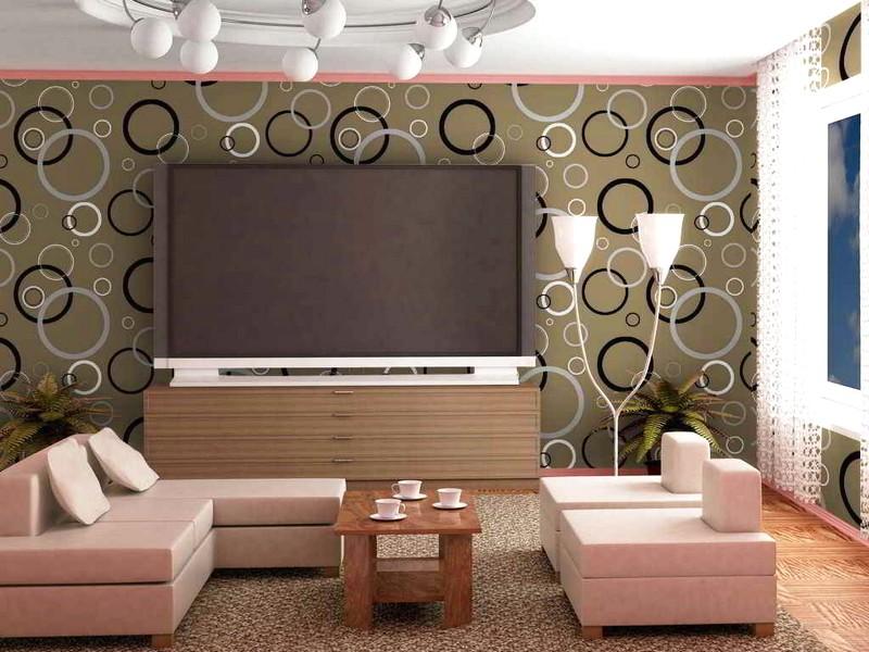 Wallpaper Keren Untuk Ruang Keluarga Nirwana Deco Jogja