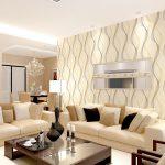 6 Gambar Wallpaper Ruang Tamu Minimalis Terbaru