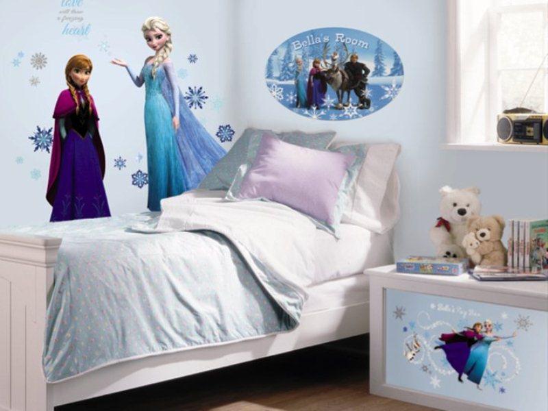 Wallpaper Dinding Kamar Tidur Anak Frozen - Nirwana Deco Jogja
