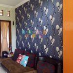 Pemasangan Wallpaper Di Perum Kadirojo 2, Purwomartani, Kalasan, Sleman