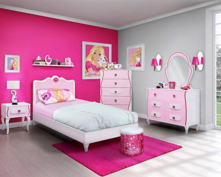 Contoh Desain Kamar Tidur Anak Perempuan Tema Barbie