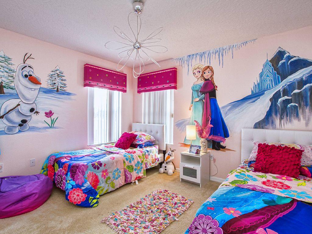 Wallpaper Dinding Kamar Tidur Anak Frozen Nirwana Deco Jogja