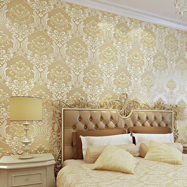 Home Decoration Wallpaper: 7 Model Wallpaper Dinding Klasik Modern