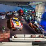 10 Wallpaper Dinding Kamar Anak Motif Cars