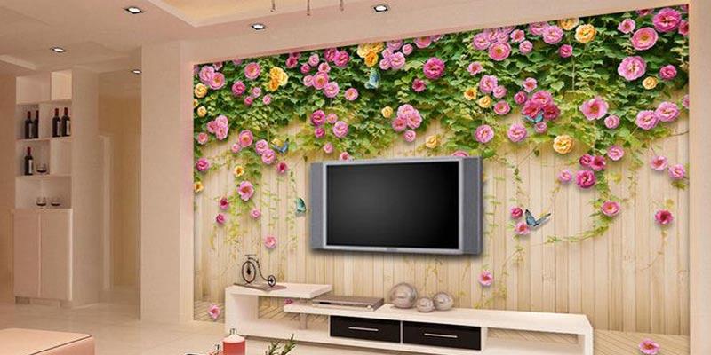 Download 510 Wallpaper Dinding Interior Design Paling Keren
