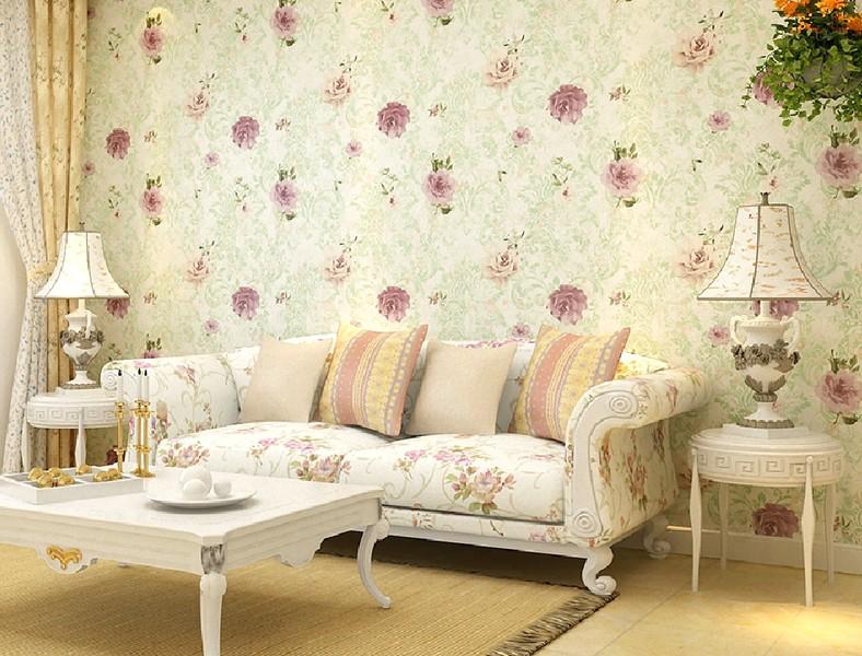 Desain Wallpaper Dinding Ruang Tamu Minimalis Sederhana Elegan Mewah Nyaman Terbaru