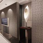 Wallpaper Dinding Dengan Motif Abstrak