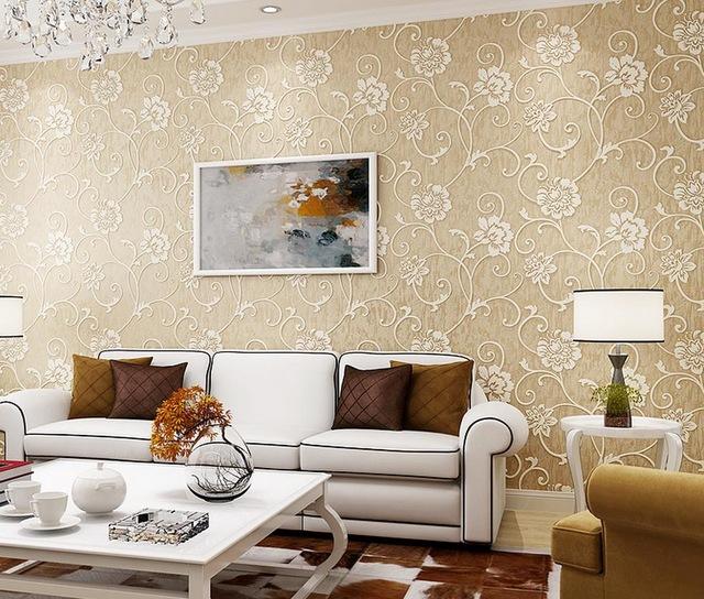 Namun Jika Anda Memiliki Furniture Ruang Tamu Yang Lebih Terang Harus Memilih Desain Warna Wallpaper Dinding Gelap