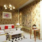 Memilih Motif Wallpaper Ruang Tamu