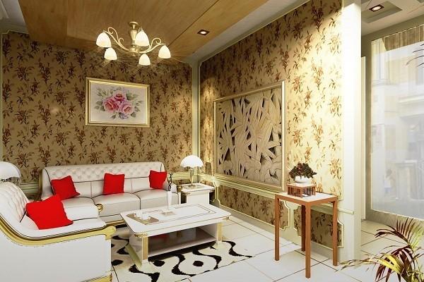 Memilih Motif Wallpaper Ruang Tamu Nirwana Deco Jogja