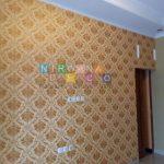 Pemasangan Wallpaper Di Batikan Residence Kav 2, Yogyakarta