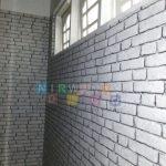 Pemasangan Wallpaper Di Jalan Parangtritis, Gang Timuran, Yogyakarta