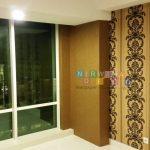 Pemasangan Wallpaper Di Apartemen Mataram City, Yogyakarta