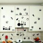 6 Desain Stiker Wallpaper Dinding Dapur Cantik
