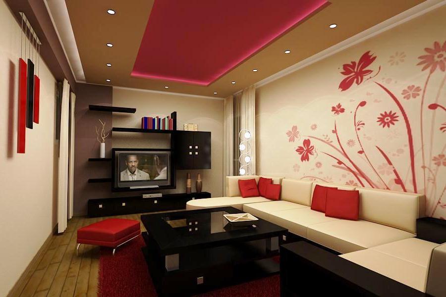 10 Contoh Wallpaper Dinding Ruang Tamu Elegan Nirwana Deco