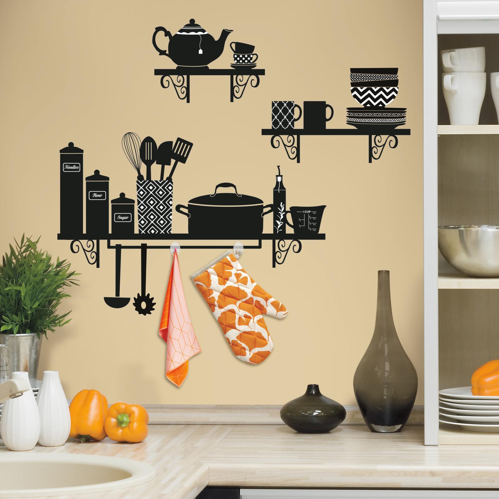6 Desain Stiker Wallpaper Dinding Dapur Cantik Nirwana