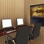 Penerapan Wallpaper Untuk Kantor