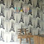 Pemasangan Wallpaper Di Hargobinangun, Pakem, Yogyakarta