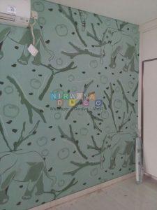 Pemasangan Wallpaper Di Jl. Demangan Baru, Caturtunggal, Yogyakarta