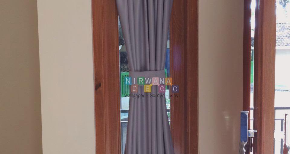 Pemasangan Gordyn Spiral Di Grogol, Parangtritis, Yogyakarta