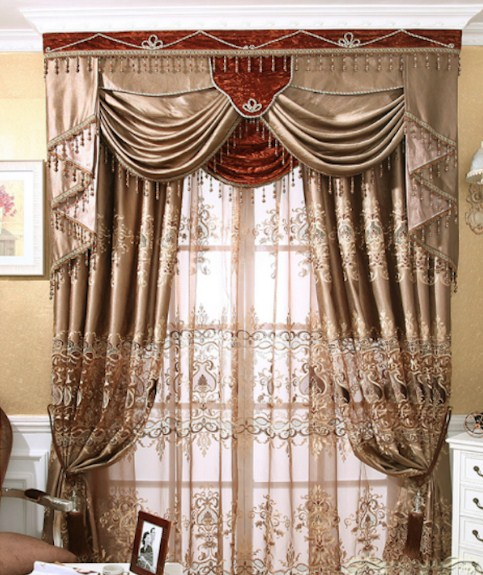 10 Model Gordyn Ruang Tamu Klasik Nirwana Deco Jogja