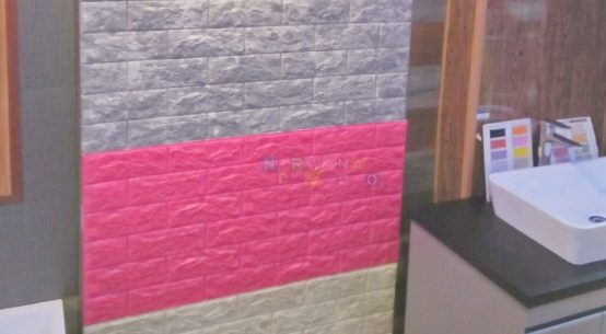 3d brick wall foam - nirwana deco