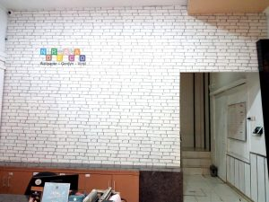 Pemasangan Wallpaper Di Jalan Ringroad Utara, Manggung, Yogyakarta