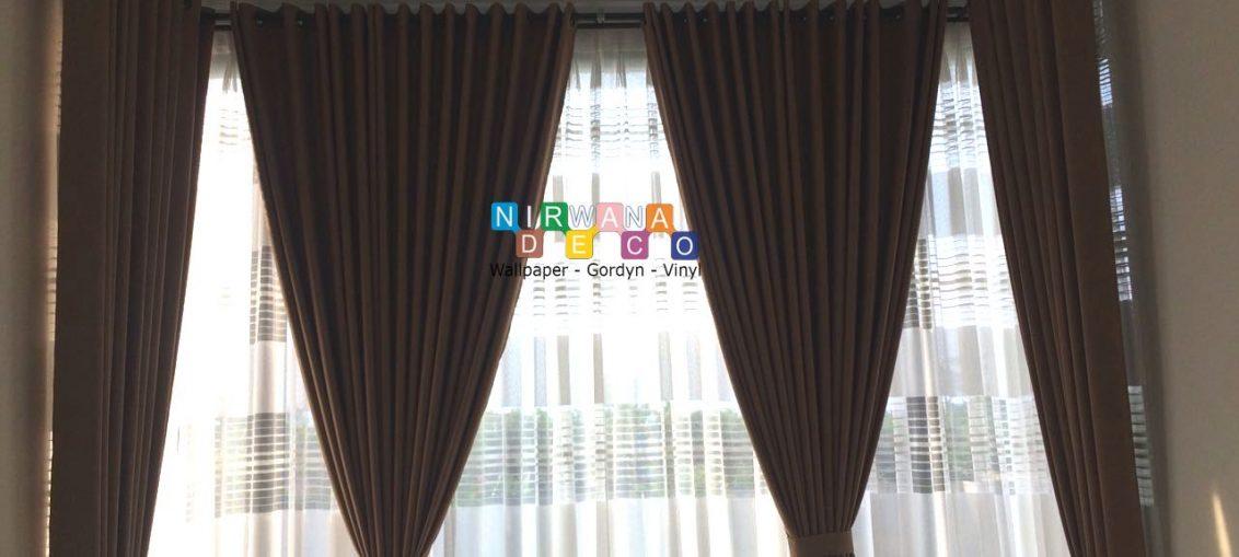 Pemasangan Gordyn Di Grand Permata Residence, Yogyakarta