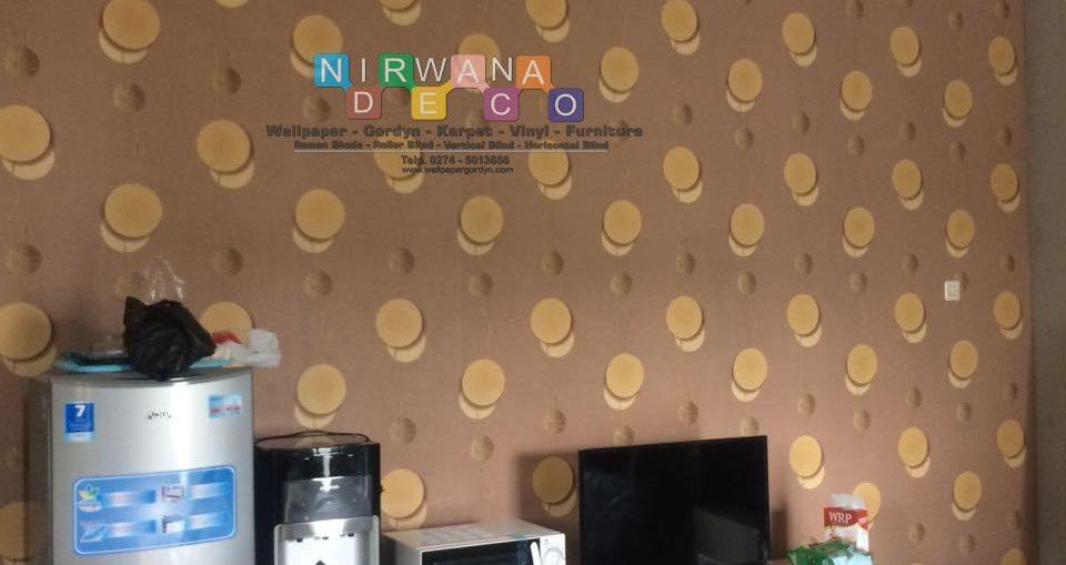 Pemasangan Wallpaper Di Perumahan Kuantan Regency Sorogenen, Yogyakarta