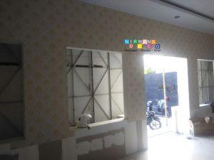 Pemasangan Wallpaper Di Jalan Melati Wetan, Baciro, Yogyakarta