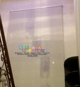 Pemasangan Roller Blind Di Valencia Club House, Magelang, Jawa Tengah
