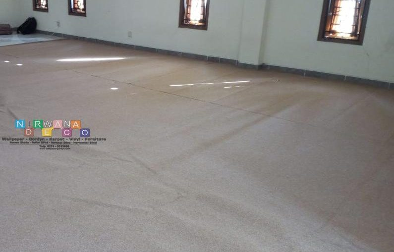 Pemasangan Karpet Di Selomartani, Kalasan, Yogyakarta