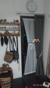 Pemasangan Gorden Di Jalan Kurahan, Sidoarum, Yogyakarta