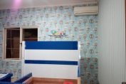 Pemasangan Wallpaper Di Perumahan Casa Grande, Yogyakarta