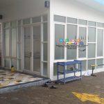 Pemasangan Stiker Sandblast Di Temon, Kulon Progo, Yogyakarta
