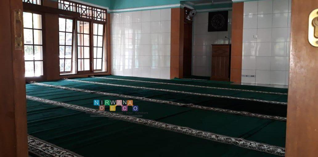 Pemasangan Karpet Masjid Di Sumberrayu, Moyudan, Sleman, Yogyakarta