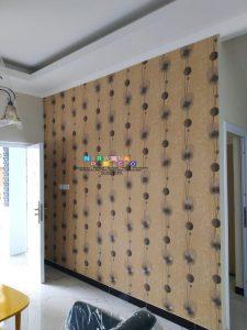 Pemasangan Wallpaper Di Jalan Magelang, Sinduadi, Sleman, Yogyakarta