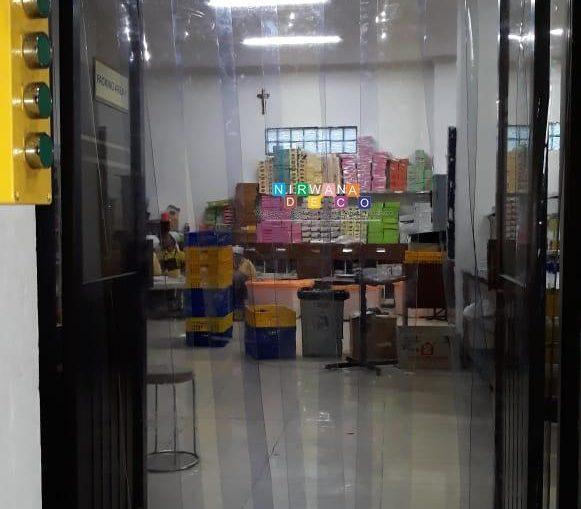 Pemasangan Tirai PVC Di Gang Loncang, Kragilan, Sinduadi, Sleman, Yogyakarta