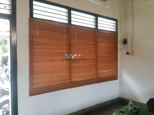 Pemasangan Wooden Blind Di Pracimosono, Ngupasan, Kraton, Yogyakarta