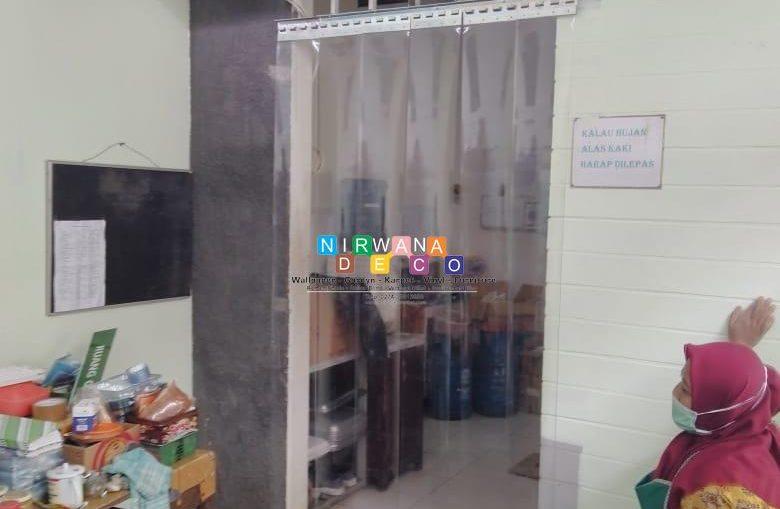Pemasangan Tirai PVC Di Jalan Kemasan, Purbayan, Kotagede, Yogyakarta