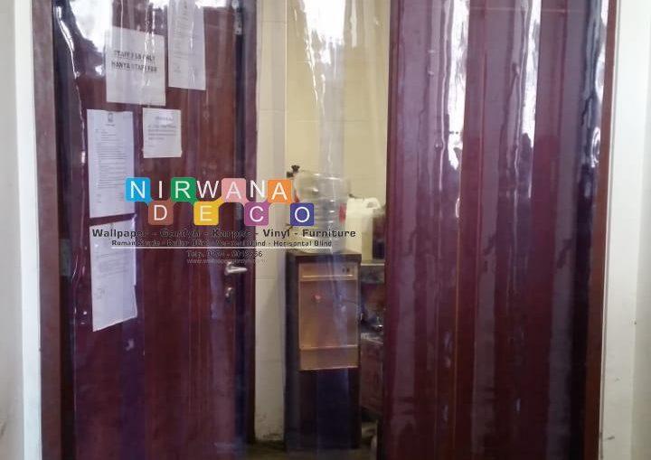 Pemasangan Tirai PVC Jl. Onggomertan 2, Maguwoharjo, Sleman, Yogyakarta