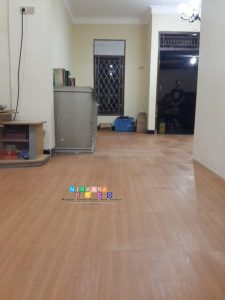 Pemasangan Vinyl Lantai Di Karangan, Karanganom, Klaten, Jawa Tengah
