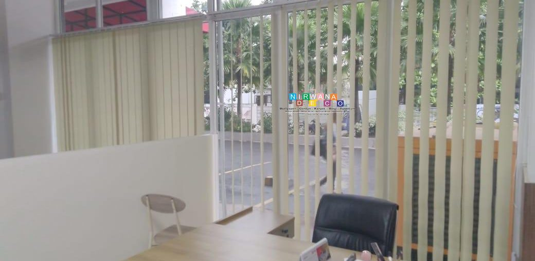 Pemasangan Vertikal Blind Di VIVO Apartemen Seturan, Yogyakarta
